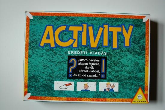 Activity játék