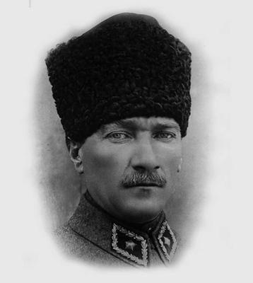 Kemál Atatürk portréja
