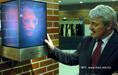 Gábor Dénes hologramszobra