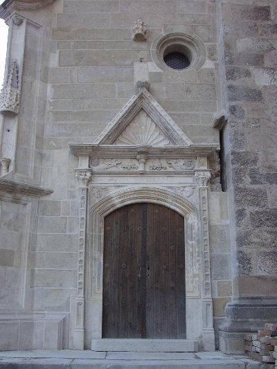 A pozsonyi Szent Márton plébániatemplom - a déli oldalkápolna kapuja a 16.század első feléből