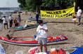 Demonstráció a Római-partért