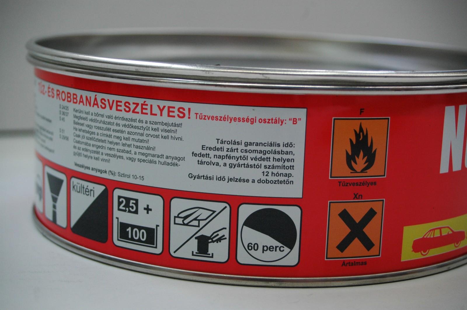 Veszélyes áruk csomagolása és jelölése