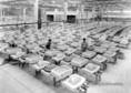 A Hódmezővásárhelyi Porcelánárugyárban száradnak a mosdókagylók