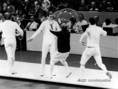 A párbajtőr csapatversenyek döntője a XX. nyári olimpián Münchenben