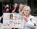 Megzavarták Újhelyi István sajtótájékoztatóját