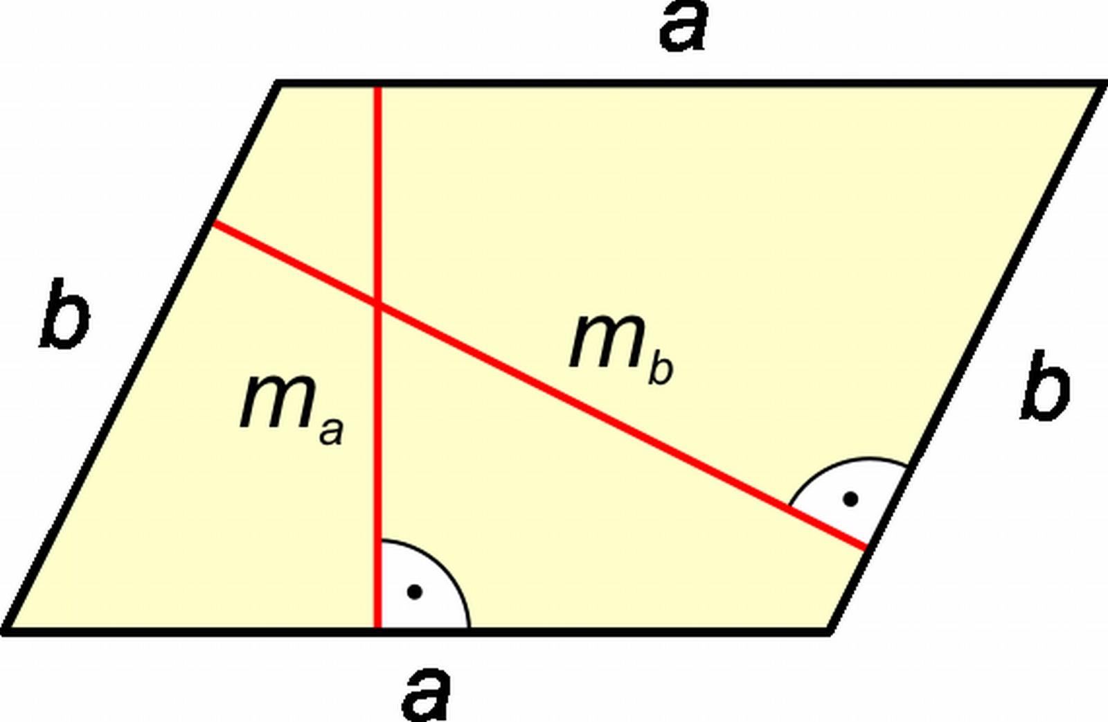 Paralelogramma magassága