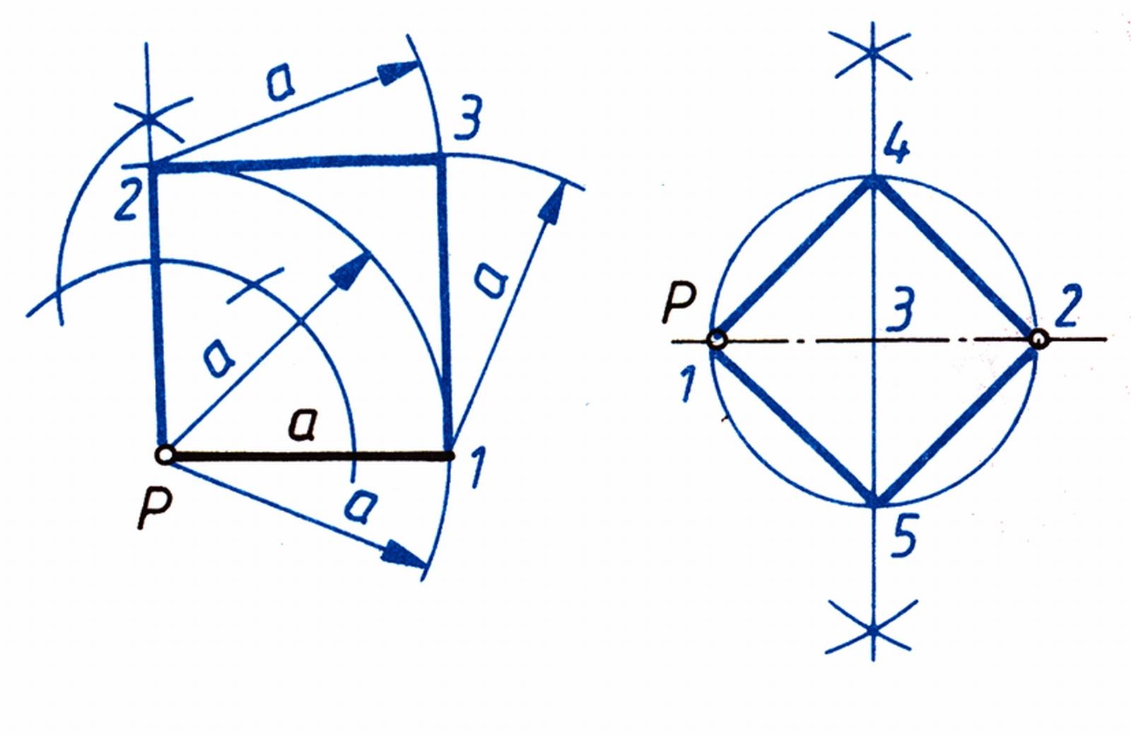 Négyszög szerkesztése