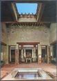 Módos lakóház atriuma házioltárral, Pompejiben