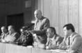 Kádár János megnyitja a Magyar Szocialista Munkáspárt Központi Bizottságának ülését