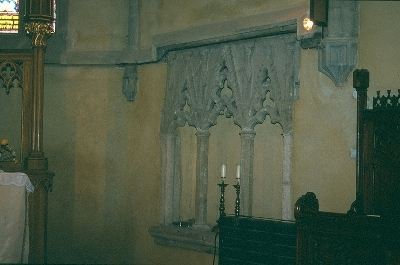 A nagyszebeni plébániatemplom - gótikus papi ülőfülke