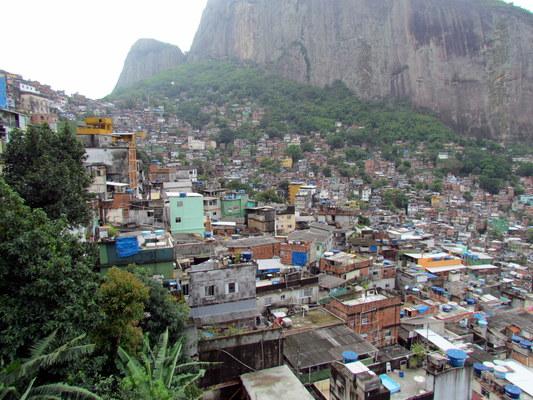 Nyomornegyed: Riocinha Favela - Rio de Janeiro