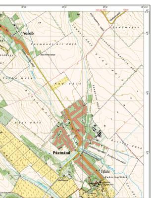 Település hálózati térkép