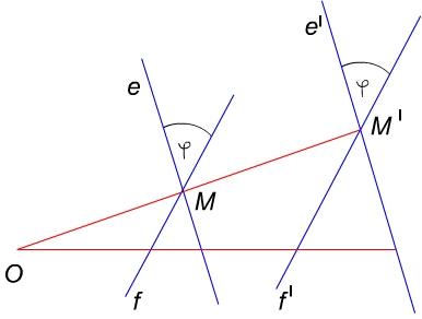A középpontos hasonlóság szögtartó tulajdonsága és annak igazolása, szemléltetése