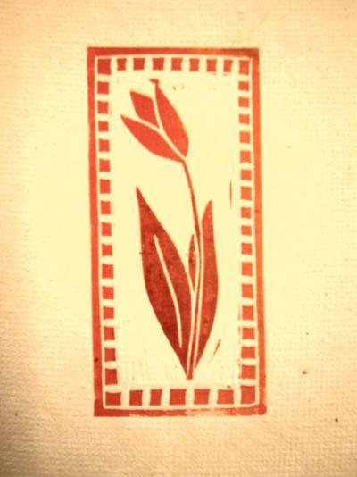 A tulipán motívum