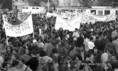 Diáktüntetés a felsőoktatási tandíj bevezetése ellen