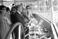 Helmut Schmidt a Hunyadi motoros kormányosfülkéjében