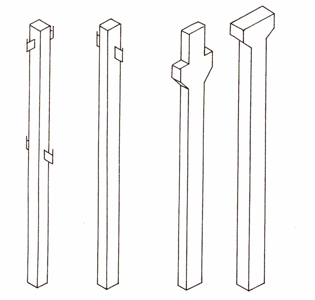 Előregyártott vasbeton pillér