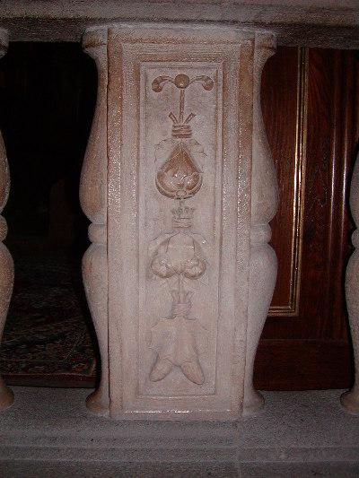 A váci székesegyház - reneszánsz baluszter pillér