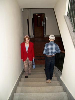 Közlekedés a lépcsőkön