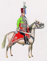 Újházy-huszár tiszt (1785)