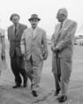 Budapestre érkezett Salvatore Quasimodo Nobel-díjas olasz író