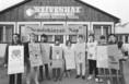 Gyermekek demonstrációja a Füstmentes Világnapon