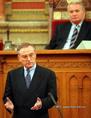 Klaus Hansch az Európai Parlament elnöke Magyarországon