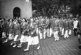 Az olimpikonok felvonulása
