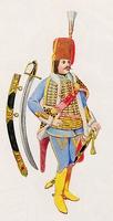 Károlyi huszár tiszt (1748)