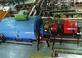 A paksi atomerőmű egyik generátora