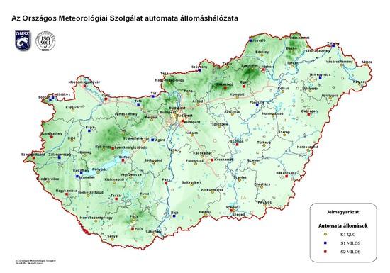 Meteorológiai mérőállomások Magyarországon