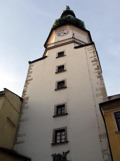 A pozsonyi Szent Mihály torony belső oldala