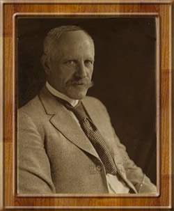Fridtjof Nansen portréja