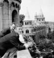 Kirk Douglas, amerikai filmsztár Budapesten