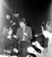 Szovjet filmes delegáció a Körhinta forgatásán