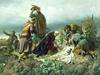 Székely Bertalan: II. Lajos holttestének megtalálása