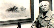 Páger Antal, a színész-festő