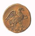 A római sas, Jupiter madara. (Rómában vert érme)