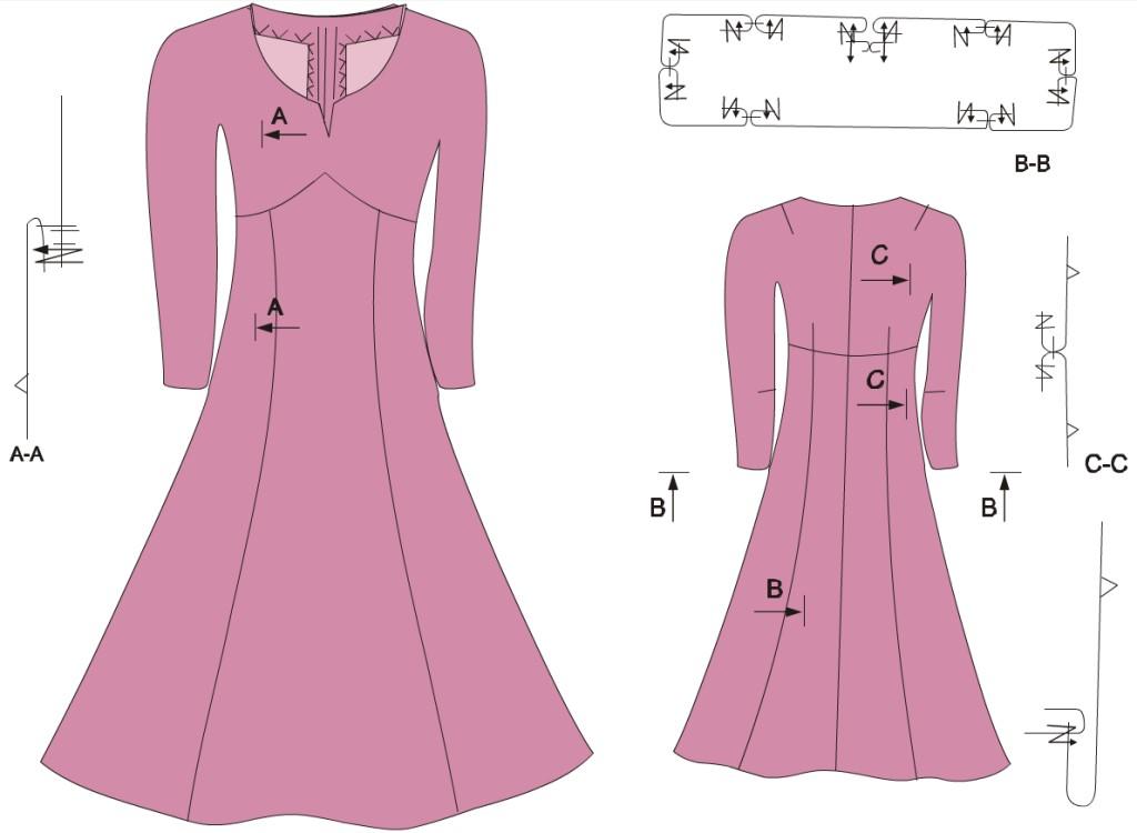 A japánujjú ruha leírása  Japánujjú ruha 3c4db1bd8e