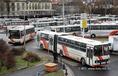 Megtartják sztrájkjukat a Volán-dolgozók
