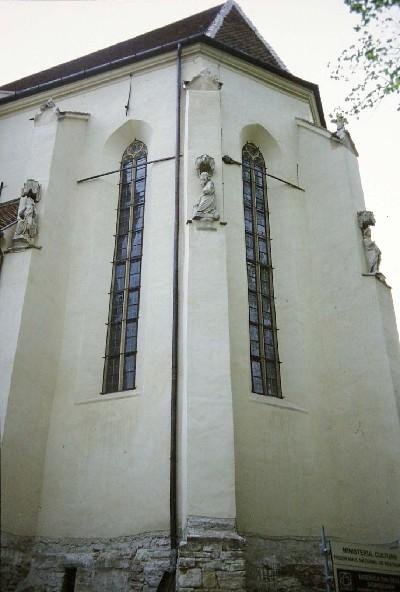A segesvári plébániatemplom szentélye