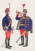 Honvédhuszár és trombitás (1867-1918)
