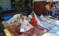 Jógabemutató az Andrássy úton a budapesti Autómentes napon