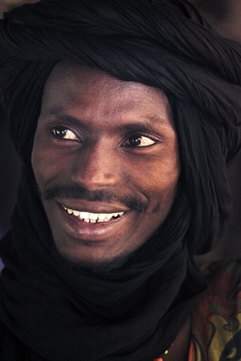 Tuareg férfi Nigerben