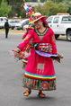 Bolíviai őslakos indián tánca