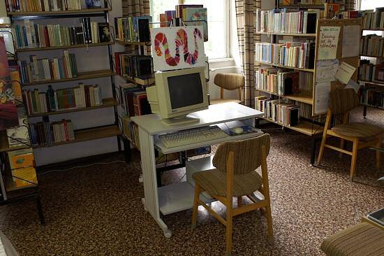 Olvasói terminálok a könyvtárban