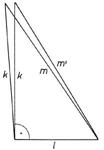 A Pitagorasz-tétel megfordítása -ábra