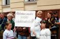 Tüntetés Miskolcon a távhőszolgáltató ellen