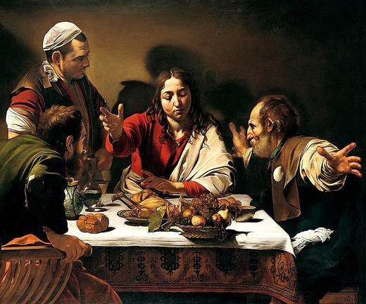 720px-Caravaggio_-_Cena_in_Emmaus
