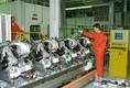 Az Audi egyik egyik motor-összeszerelő műhelye
